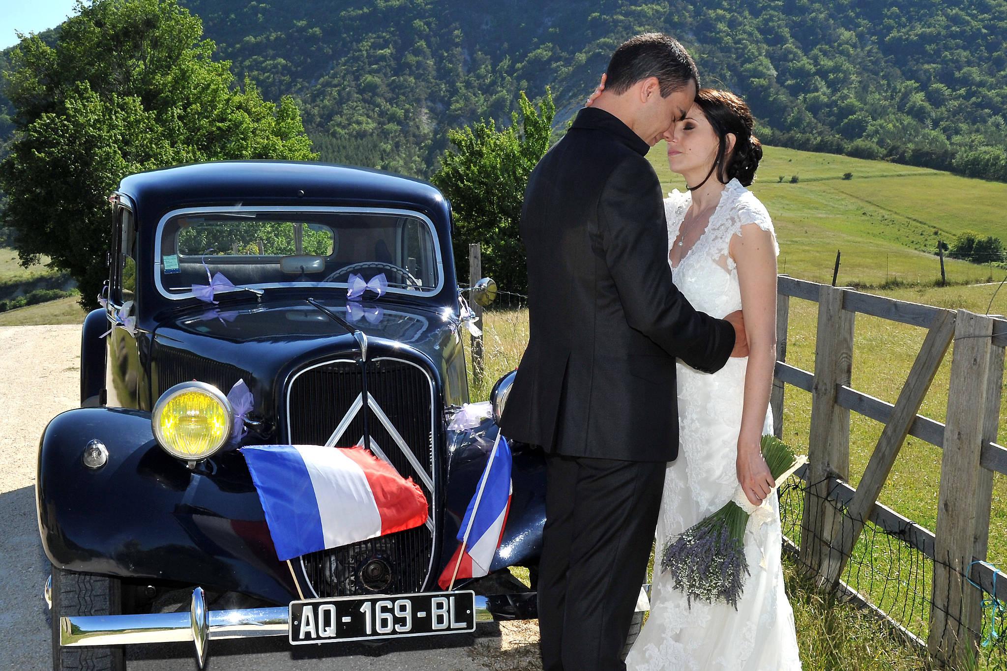photo accueil mariage